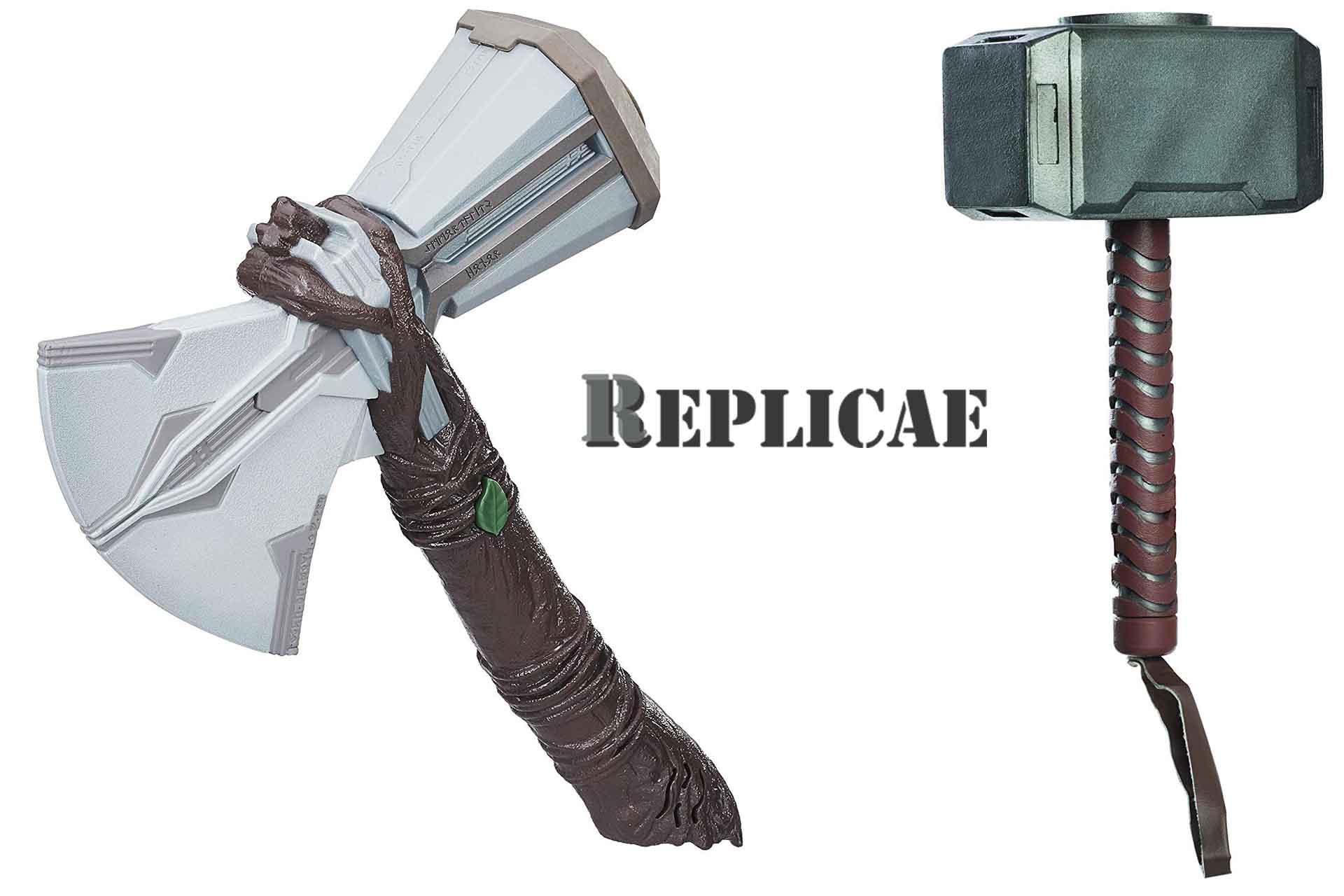 El martillo de Thor es famoso por las peliculas de marvel