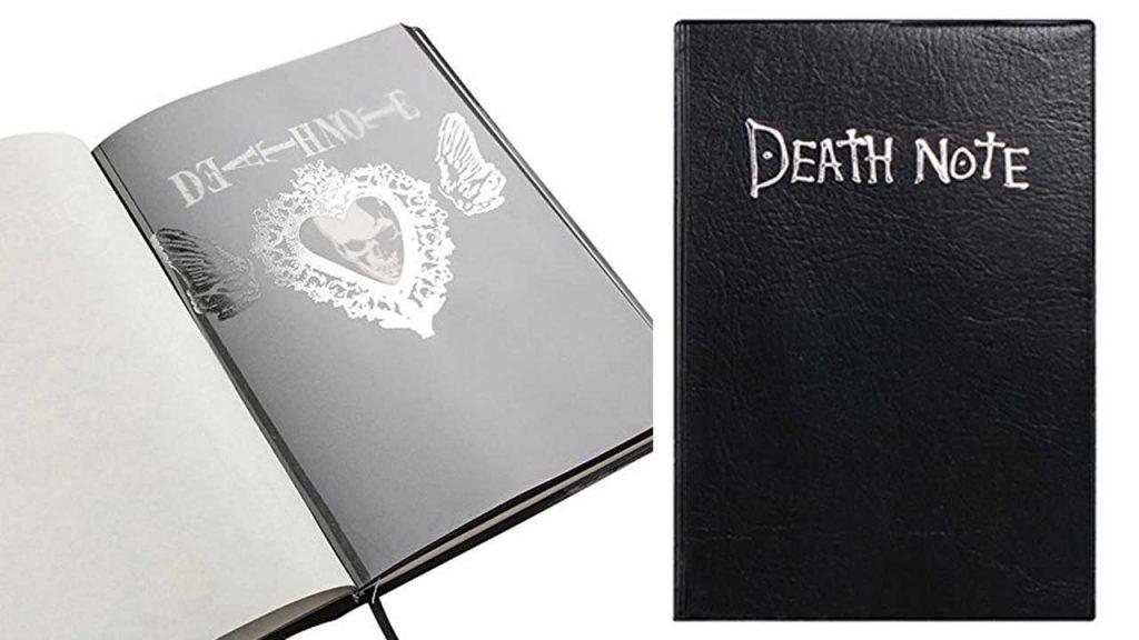 El cuaderno death note es una replica de calidad a un precio muy barato para comprar