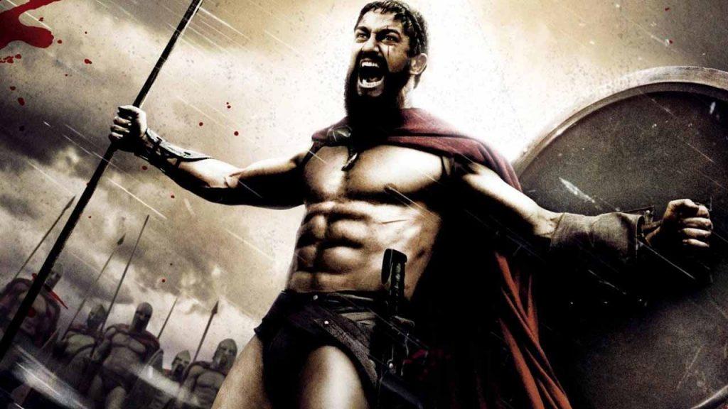 el casco de leonidas es el que ha hecho famosos los cascos espartanos